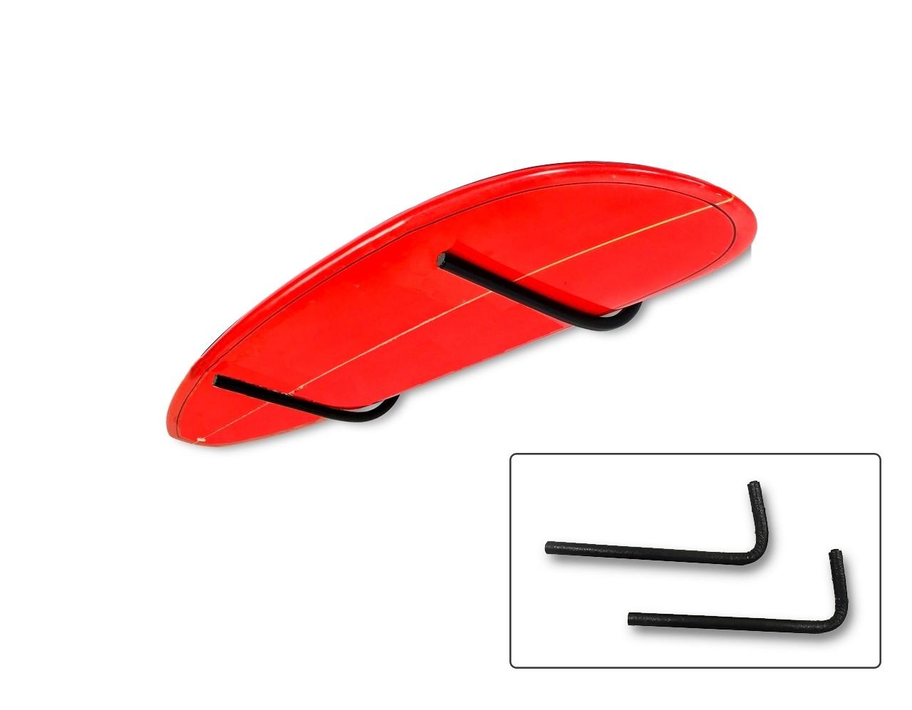 Rack Para 1 Prancha de Surf - Horizontal   Prancharia