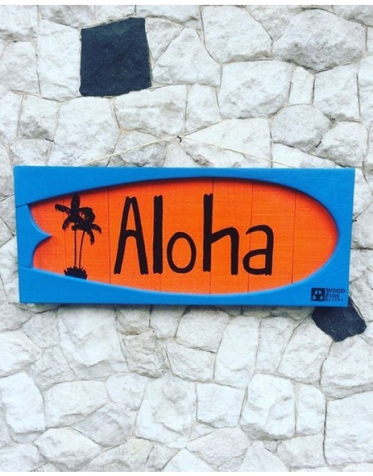 Shape Aloha Laranja/Azul   Prancharia