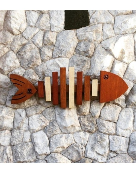 Decoração Woodfish Clássico   Prancharia