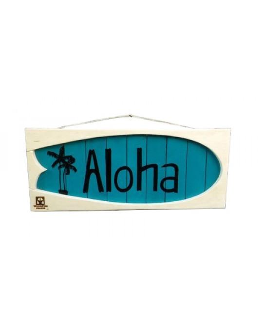 Shape Aloha Branco/Azul | Prancharia