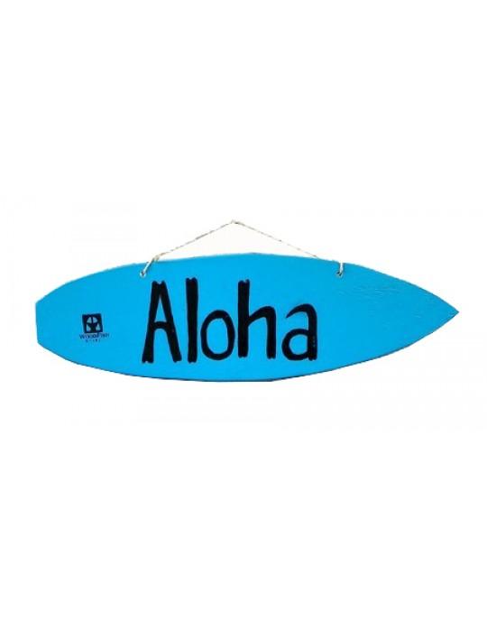 Pranchinha Decorativa Aloha Azul   Prancharia