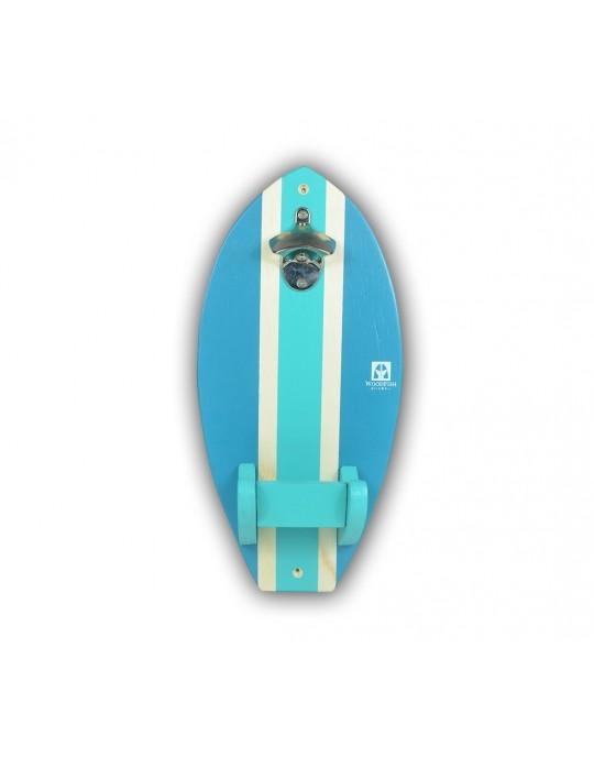 Abridor de Garrafas de Parede do Surf | Prancharia