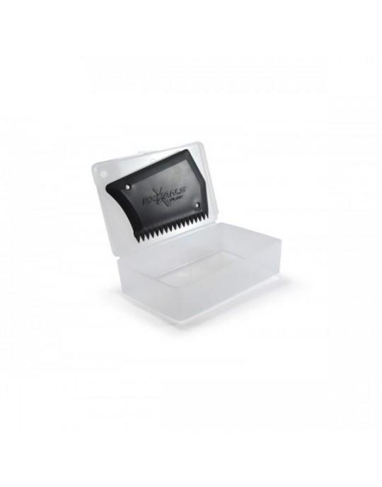 Box para parafina com raspador Expans Trasparente