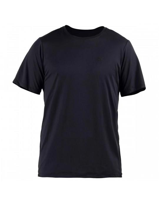 Camisa Manga Curta Dry Action 3a uv Mormaii Masculino - Preto | Prancharia