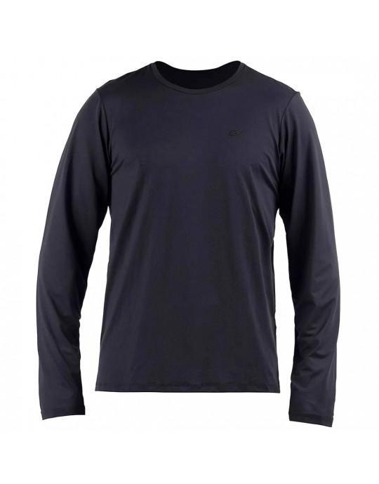 Camisa Manga Longa Dry Action 3a uv Mormaii Masculino - Preto | Prancharia
