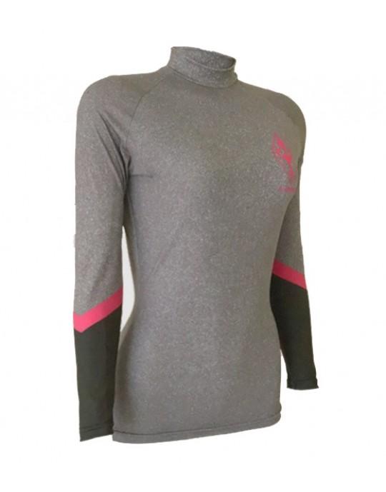 Camiseta Lycra Feminina Geometric Ecosurf UV50+| Prancharia