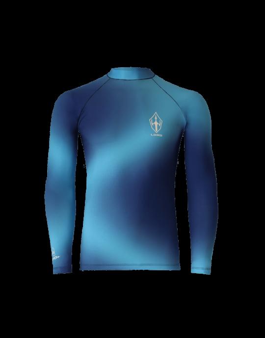 Camiseta Lycra Masculina Blue Moon EcoSurf Lord UV 50+