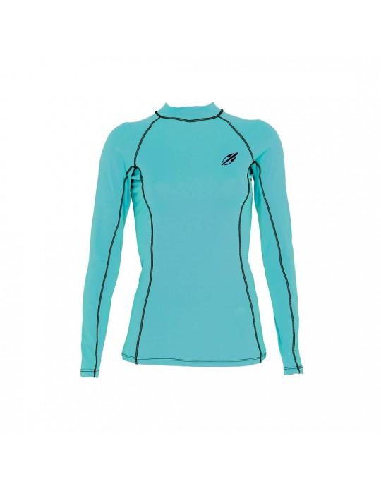 Camiseta Mormaii Lycra Diva 6A UV Core Azul Claro | Prancharia