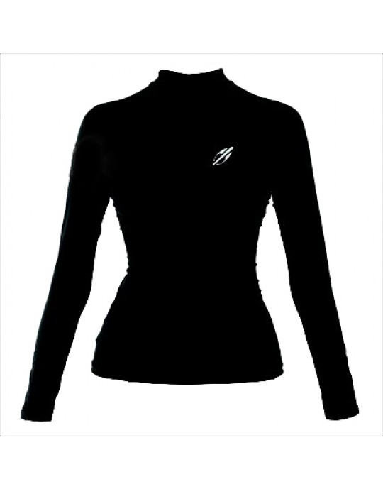 Camiseta Mormaii Lycra Diva Pro Surf Preta