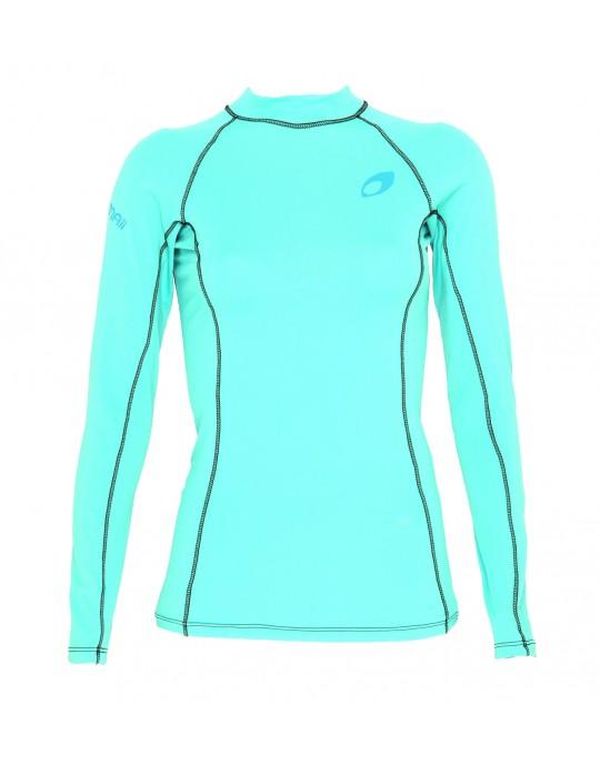 Camiseta Mormaii Lycra Diva 6A UV Core Verde Claro | Prancharia