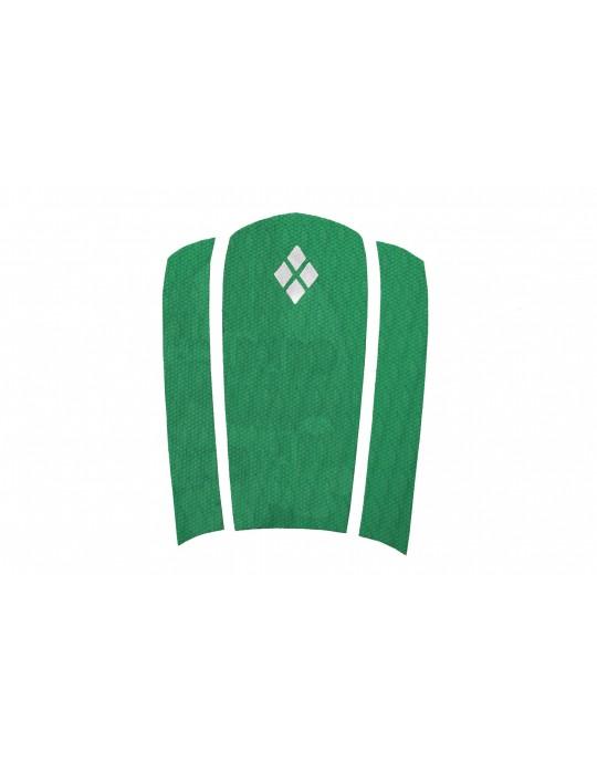Deck Frontal para pranchas Surf - 3 partes - Verde Bandeira | Prancharia