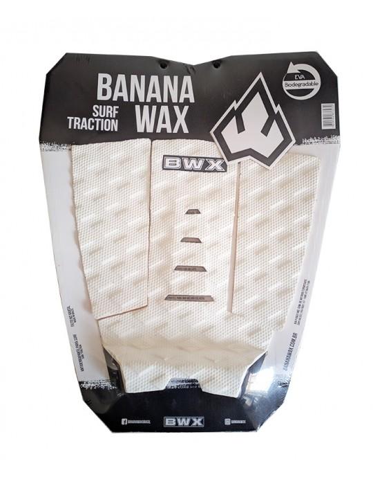 Deck Surf Banana Wax Thermo-Fresado Branco 3 Partes