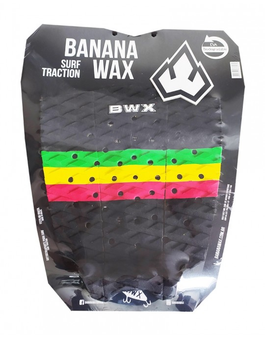 Deck Surf Banana Wax Thermo-Fresado Reggae 3 Partes