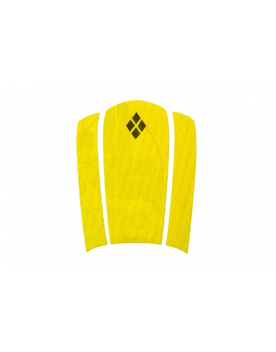 Deck Frontal amarelo para pranchas Surf 3 partes Prancharia