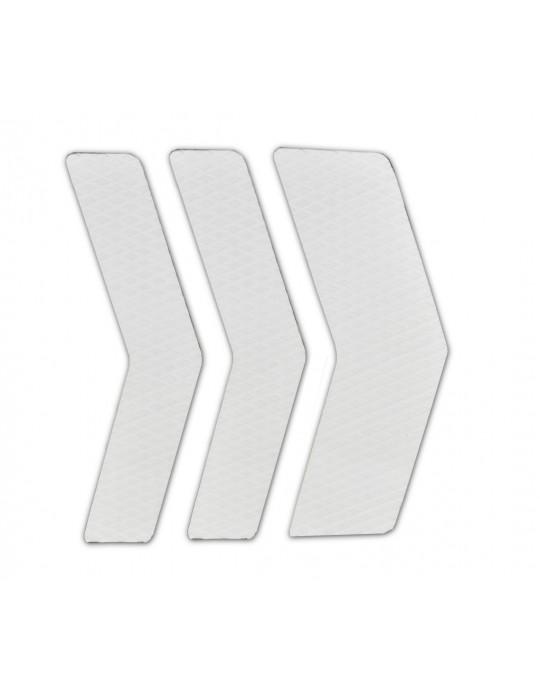 Deck Frontal Pranchas Surf - 3 Partes - Branco