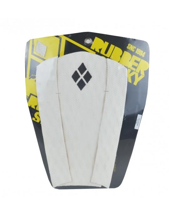 Deck Frontal para pranchas Surf - 3 partes - Branco
