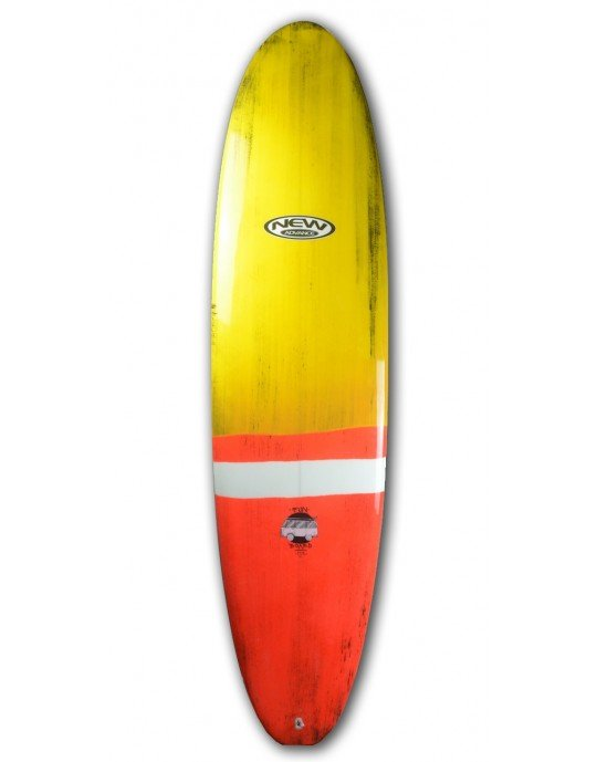 "Prancha de Surf Funboard New Advance 7'4"" EPS + Epoxi"