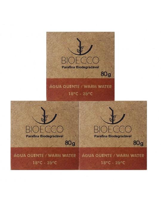 Kit Com 3 Parafinas Biodegradáveis Bioecco - Agua Quente Prancharia