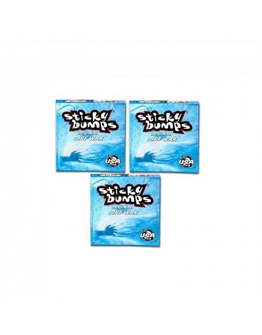 Kit com 3 Parafina Sticky Bumps - Cool | Prancharia