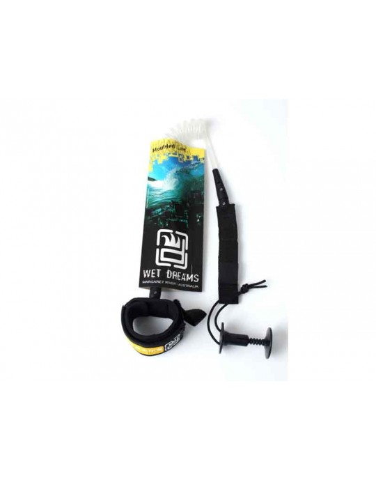 Leash Bodyboard Bíceps 7.0mm - Wet Dreams Moulded Line | Prancharia