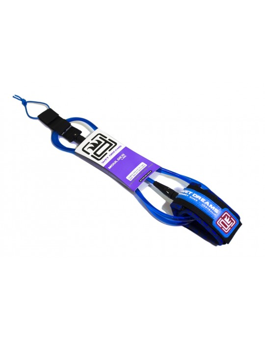 Leash Surf Competição Cordão 6'6'' x 6.0 mm. - Wet Dreams Moulded Line | Prancharia