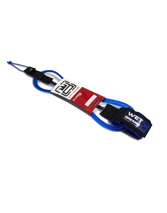 Leash Surf Micro Competição 6'0'' x 5.0 mm. - Wet Dreams Classic Line | Prancharia