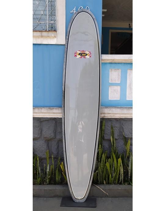 """Longboard Paulo Rabelo 9'4"""" Cinza"""