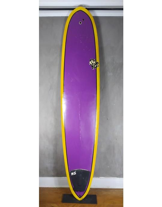 "Longboard The Kryp 9'0"" Roxo Seminovo"