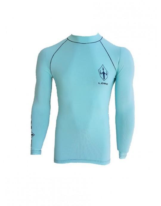Lycra Surf Lord Proteção UV50 Azul Claro | Prancharia