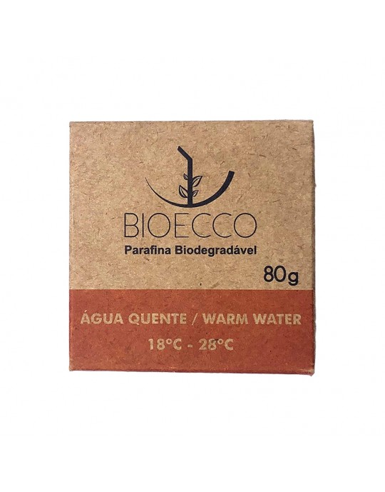 Parafina Biodegradável Bioecco - Agua Quente Prancharia