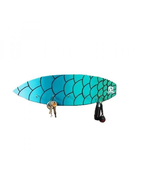 Pranchinha Chaveiro De Surf Escama   Prancharia