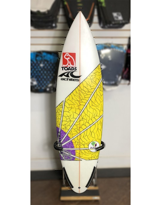 "Prancha de Surf Achiles Cerullo 5'10"" Seminova | Prancharia"