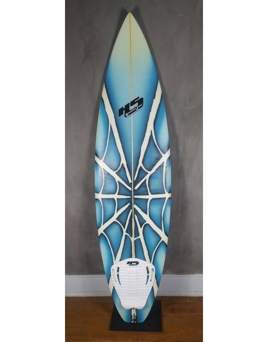 """Prancha de Surf 6'0"""" Teia Azul Paulo Rabello Seminova"""