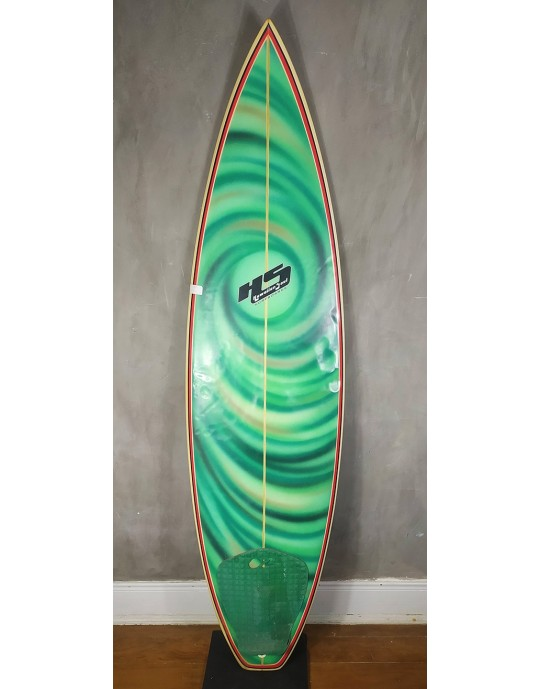 """Prancha de Surf 6'2"""" Paulo Rabello Seminova"""