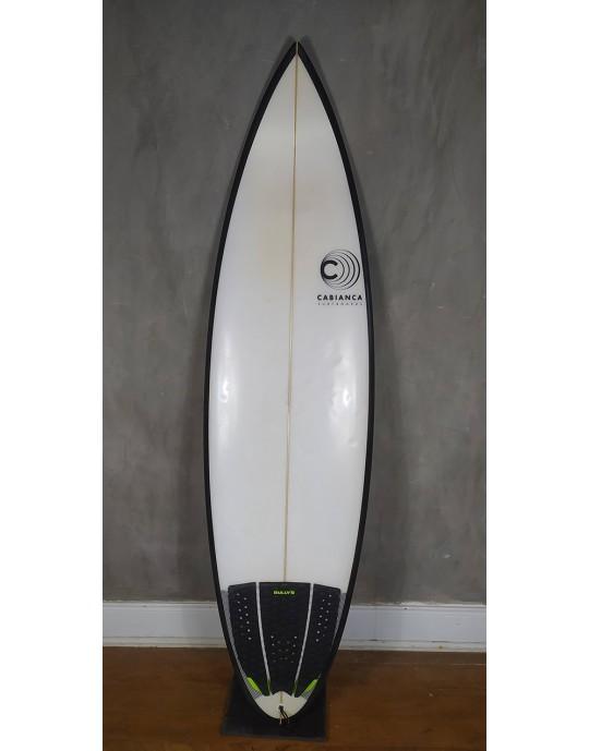 "Prancha de Surf Cabianca DFK 6'1"" Seminova"