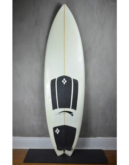 "Prancha de Surf Fish Aerofish 6'0"" Seminova"
