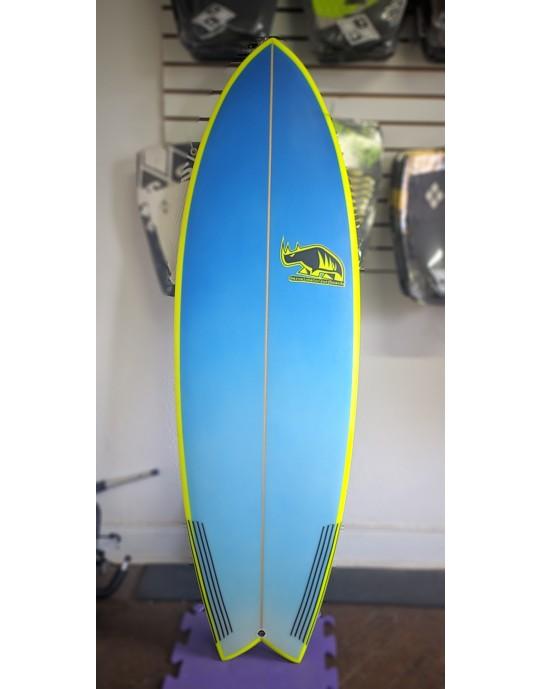 "Prancha de Surf FIsh Marcelo Neto 5'11"" Azul"