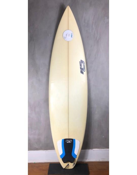 """Prancha de Surf Paulo Rabello 6'5"""" Branca Seminova"""