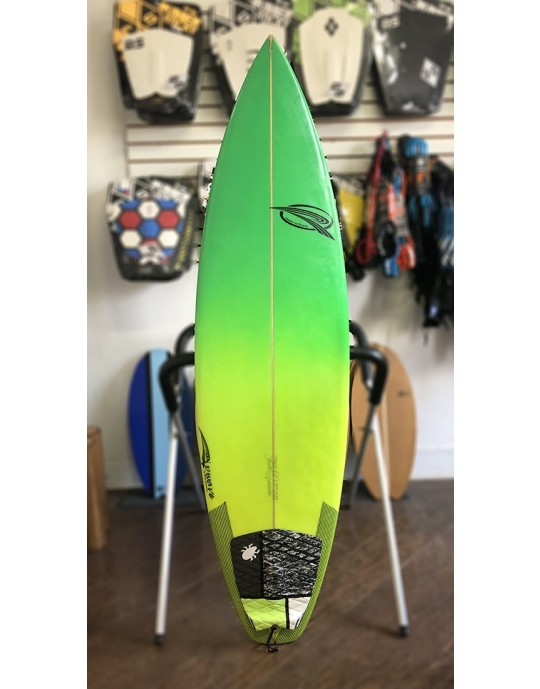 "Prancha de Surf Rip Wave 5'10"" Verde Seminova | Prancharia"