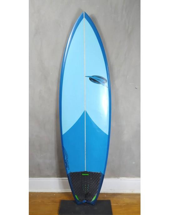Prancha de Surf Rip Wave 5'9 Azul Seminova