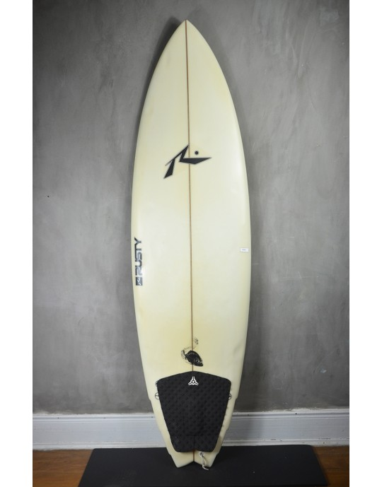 "Prancha de Surf Rusty 6'0"" Piranha Seminova"