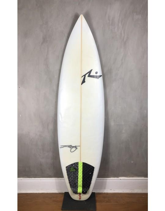 "Prancha de Surf Rusty 6'1"" Yes Thanks Seminova"