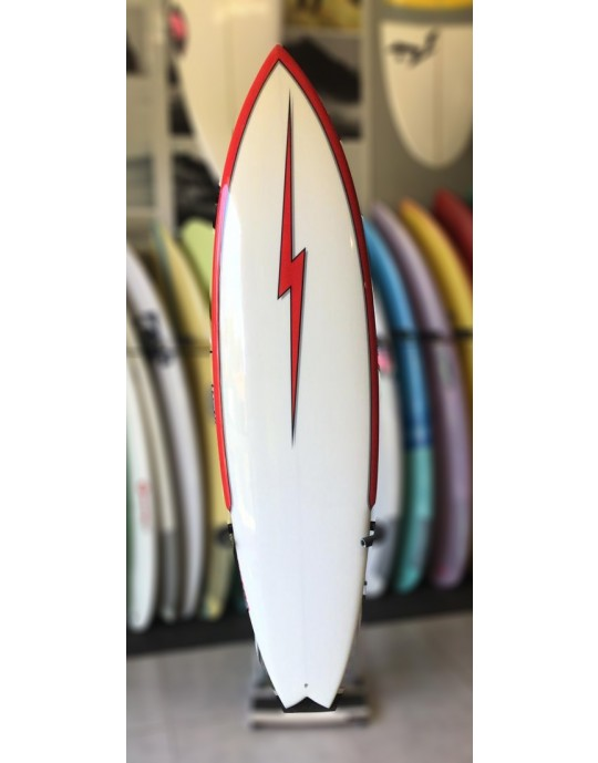 "Prancha de Surf Stinger Retro 7'2"""