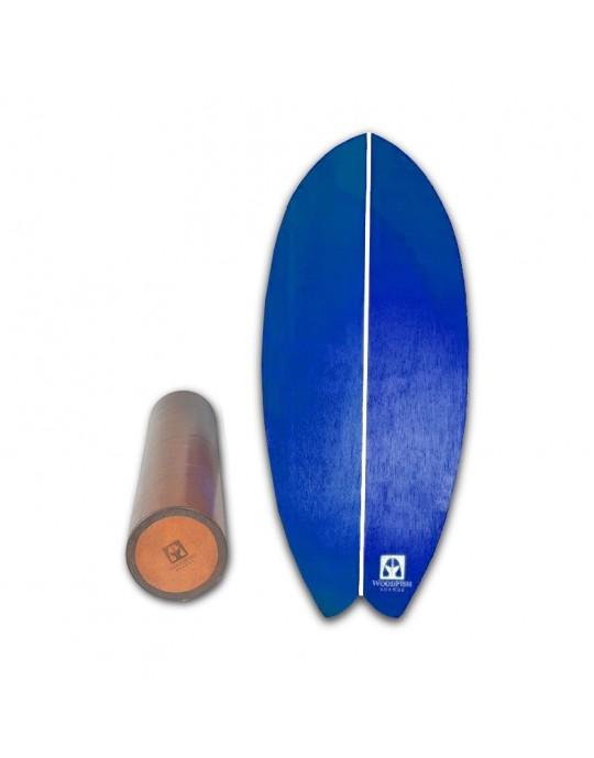 Prancha De Equilíbrio - Balance Board Para Treino Funcional E Surf Em Casa   Prancharia