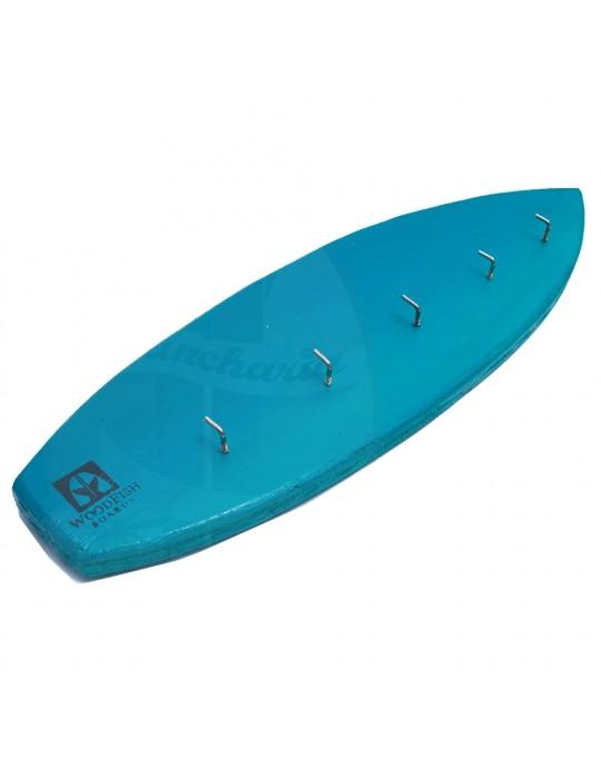 Pranchinha Chaveiro De Surf Azul | Prancharia