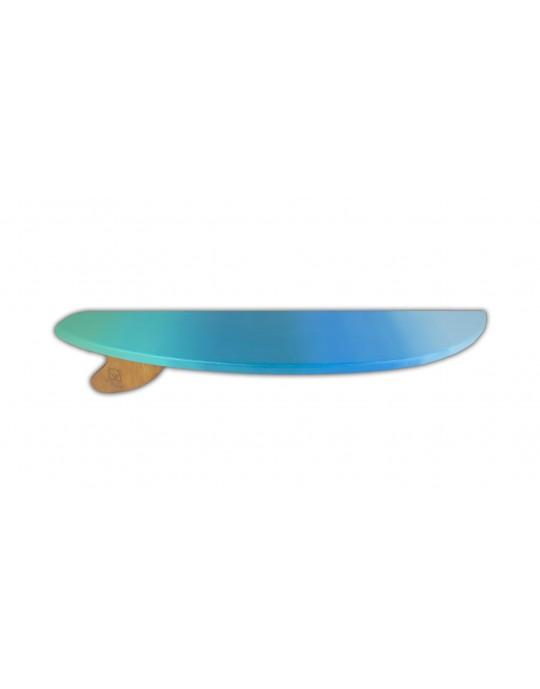 Prancha Prateleira Surf Tons de Azul   Prancharia