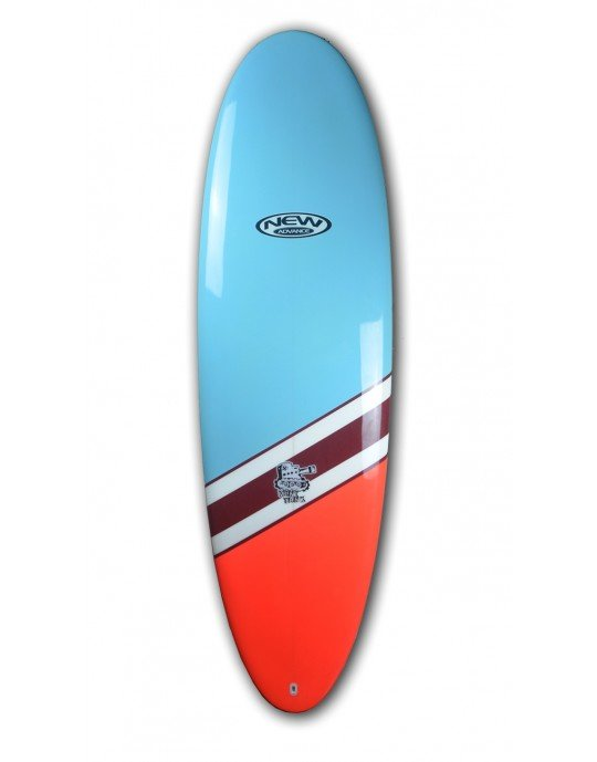 "Prancha de Surf Mini Tunk New Advance 6'6"" Azul EPS + Epoxi"