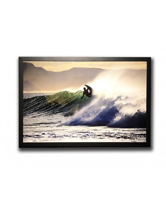 Quadro Decorativo Surfista Jeffreys Bay | Prancharia