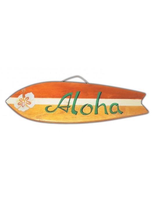 Pranchinha Decorativa Aloha Flor Madeira | Prancharia