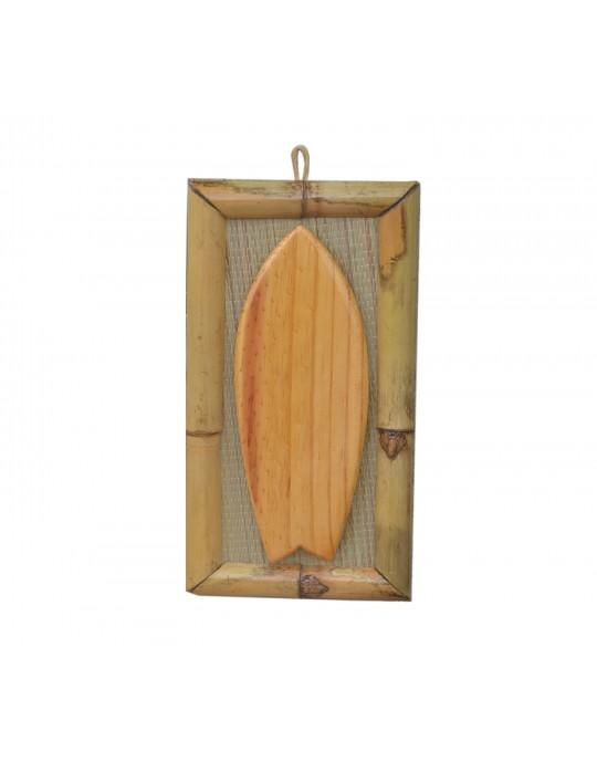 Quadro de Surf Bambu Fish - Prancharia